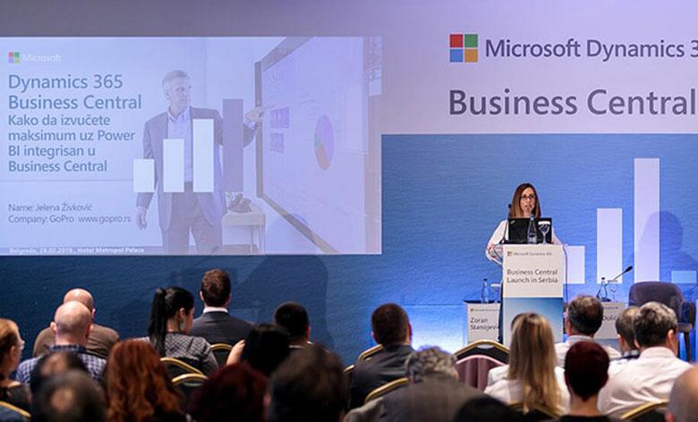 Microsoft Dynamics 365 Business Central predstavlja naslednika Microsoft Dynamics NAV-a